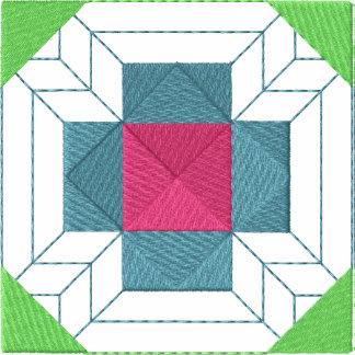 Edredão #2 quadrado camiseta bordada polo