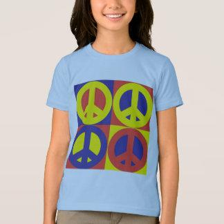 Edredão da paz - a camiseta do miúdo