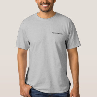 Educação física camiseta