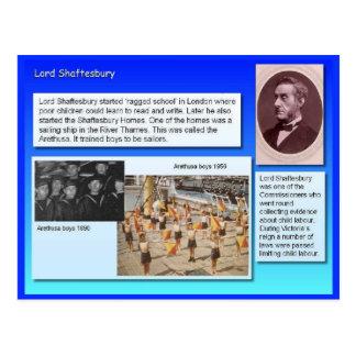 Educação, reformistas, senhor Shaftesbury Cartão Postal