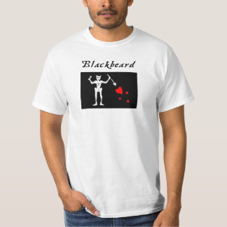 Edward ensina t-shirt do pirata de Blackbeard