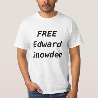 EDWARD LIVRE SNOWDEN CAMISETAS