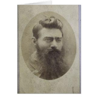 Edward (Ned) Kelly, idade 25 Cartão Comemorativo