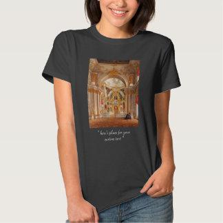 Edward Petrovich - catedral no palácio do inverno T-shirt