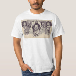 Edward sete reis camiseta