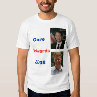 Edwards8, nesga, Gore2008, Edwards T-shirt