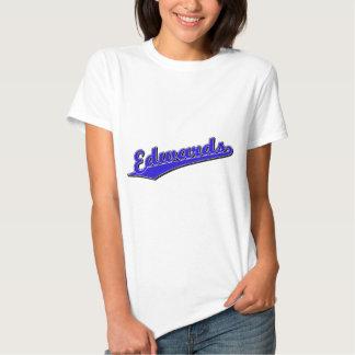 Edwards no azul camiseta