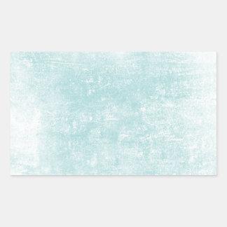 Efeito de madeira azul da grão adesivo retângular