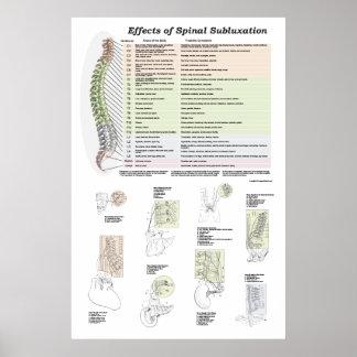 Efeitos da quiroterapia espinal do poster do