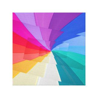 efetue o droste do vortex colorido em canvas do