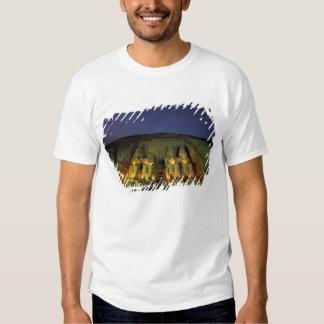 Egipto, Abu Simbel, figuras colossais de Ramesses Camiseta