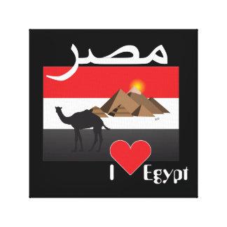 Egipto - Egypt linho Impressão Em Tela
