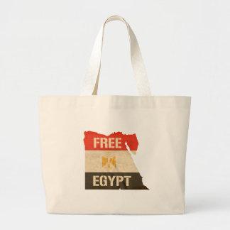 EGIPTO LIVRE BOLSAS DE LONA