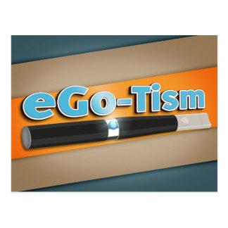 ego-Tism Cartão Postal