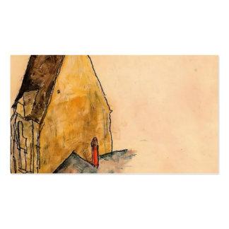 Egon Schiele- Spitalskirche, moldando Modelo Cartões De Visitas