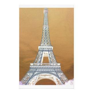 Eiffel torre Tower giro Papelaria