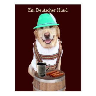 Ein Deutscher Hund Cartão Postal