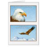 EL Aguila, tarjeta Cartão Comemorativo