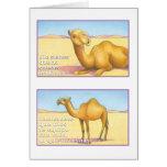EL Camello, tarjeta Cartão Comemorativo