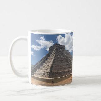 EL Castillo - Chichen Itza, caneca de México #3