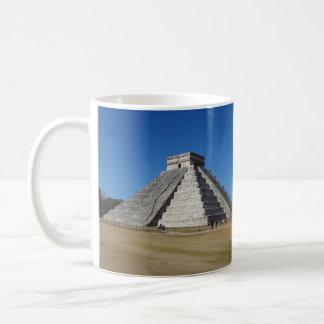 EL Castillo - Chichen Itza, caneca de México #4