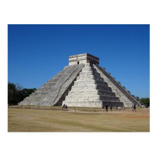 EL Castillo - Chichen Itza, cartão de México #4