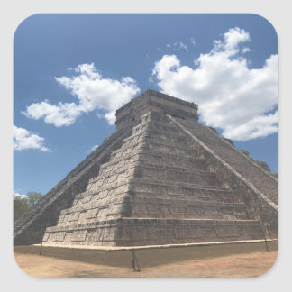 EL Castillo - Chichen Itza, etiquetas de México #3