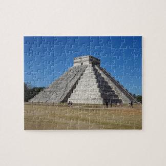 EL Castillo - Chichen Itza, quebra-cabeça de serra