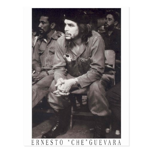 EL Che Guevara Cartão Postal