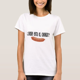 EL chorizo.png do est do donde Camiseta