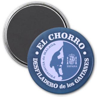 EL Chorro (escalada) Ímã Redondo 7.62cm