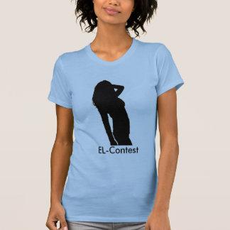 EL-Competição/tanque T-shirts