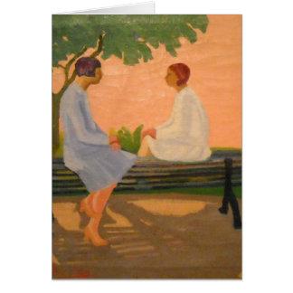 EL Cuentito - cartão da arte