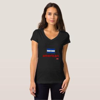 EL de NationOfImmigrants- Salvadorenho-Americano Camiseta
