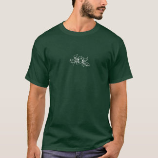 EL Gordo Bull no branco T-shirts