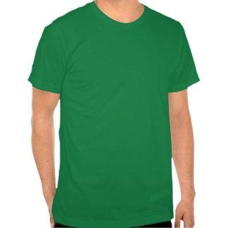 EL gótico Gordo T do verde Tshirts