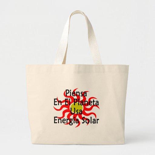 EL Planeta EUA Energia do En de Piensa solar Bolsa Para Compra