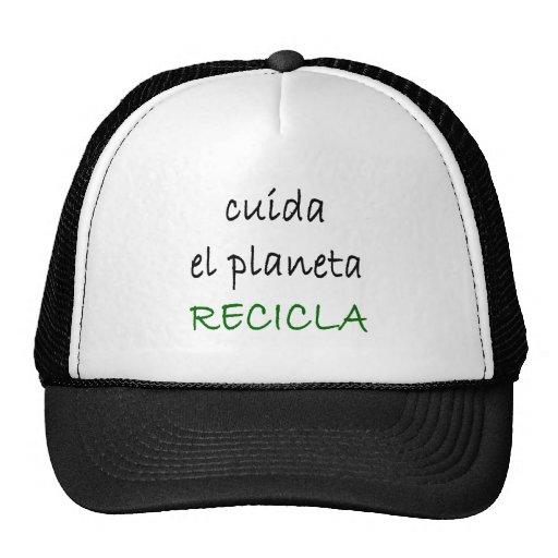 EL Planeta Recicla de Cuida Bones
