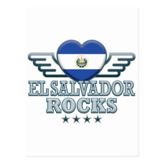 El Salvador balança v2 Cartao Postal