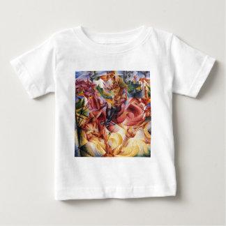Elasticidade por Umberto Boccioni Camiseta Para Bebê