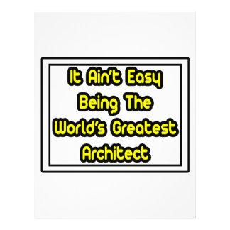 Ele arquiteto… do mundo fácil de Aint o grande Panfleto Coloridos