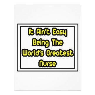 Ele enfermeira… do mundo fácil de Aint a grande Panfleto