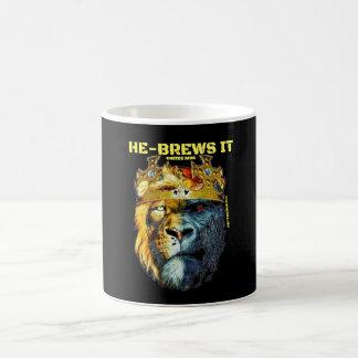 Ele-Fermentações ele caneca de café