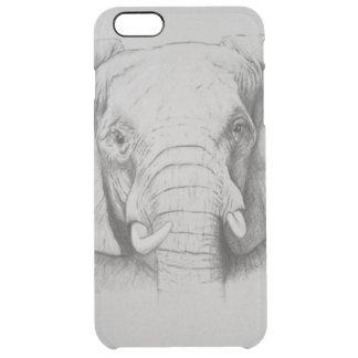 Elefante 2011 capa para iPhone 6 plus clear