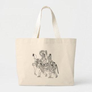 Elefante Bolsas De Lona
