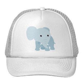 Elefante bonito do bebê boné