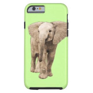 Elefante bonito do bebê capa tough para iPhone 6