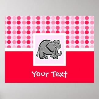 Elefante bonito posters