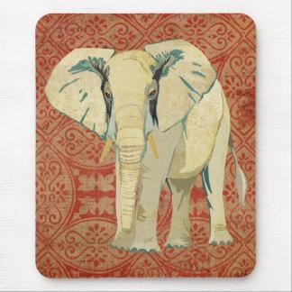 Elefante branco Mousepad