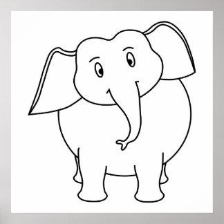 Elefante branco posters
